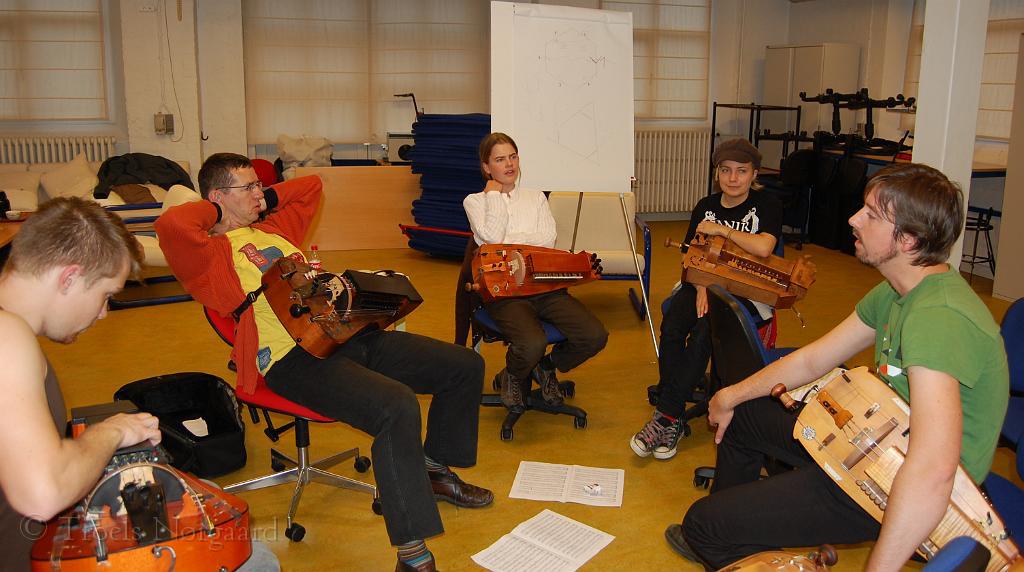 Workshop med Matthilas Loibner
